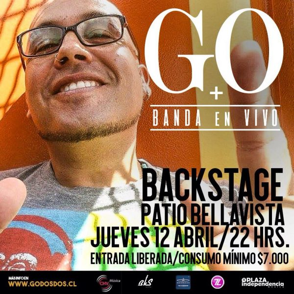 GO <br> Backstage <br> Abril <br> 2018