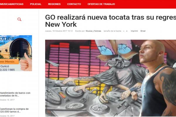 GO en Música y Noticias <br> Octubre <br> 2017