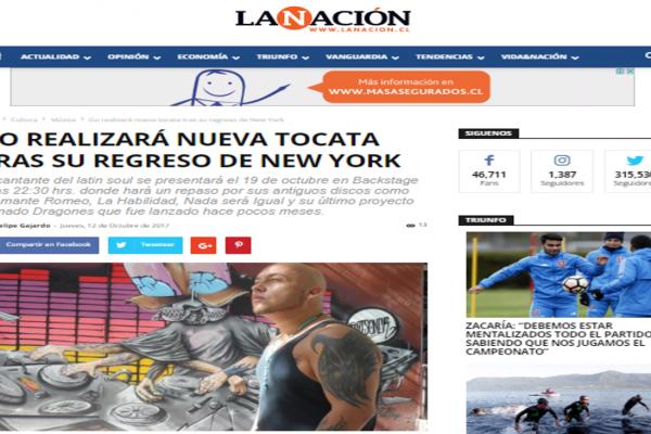 GO en La Nación <br> Octubre <br> 2017