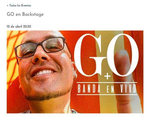 GO en ZonaLatina <br> Abril <br> 2018