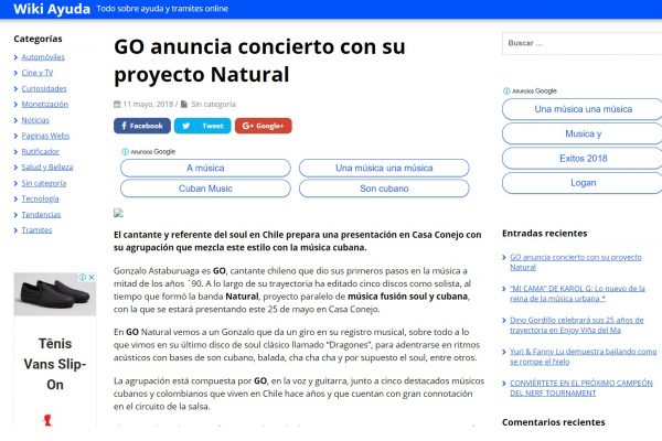 GO en WikiAyuda <br> Mayo <br> 2018