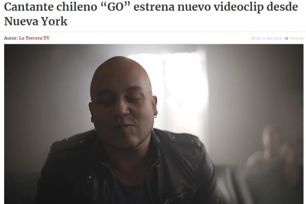 Go estrena nuevo video La Tercera <br> Agosto 2018 <br>