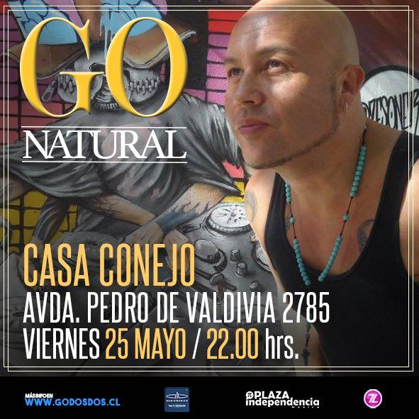 GO en Casa Conejo <br> Mayo <br> 2018
