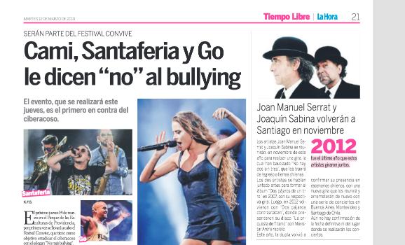 Go <br> Diario La Hora <br> Marzo 2019
