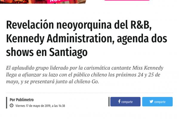 Go <br> Publimetro <br> Mayo 2019