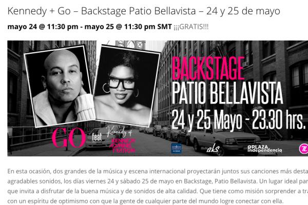 Go <br> Chile Funk <br> Mayo 2019